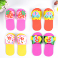 New Kids DIY Slippers Handmade Eva Foam Stickers Craft Puzzle Baby Educational Early Learning Toys for Children Christmas Gifts