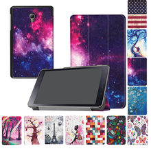 New Hot Sale Tahan Lama Pelindung Case untuk Samsung Galaxy Tab 8.0 T380 T385 Tablet Kulit Smart Cover Case # ZS(China)