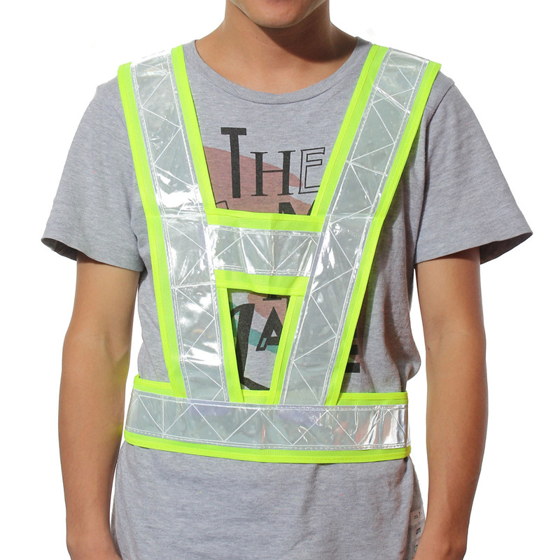 1Pcs HighTraffic Security Reflective Vest Outdoor For Running Cycling Vest font b Harness b font Reflective