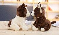זוג קטן מתנת בובות כלב צ 'יוואווה כלב צעצועים ממולאים קטיפה חמוד יושב על 20 ס
