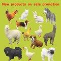 Специальные акции для бесплатная доставка кот мопс курица петух кролика утка гусь такса хаски альпака имитационная модель животных, игрушки