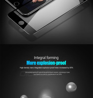 oicgoo 9 ч премиум полное покрытие закаленное стекло для iPhone 7 на 6 с 6 плюс экран протектор закаленное стекло для iPhone 6 с 6 с 7 плюс стекло