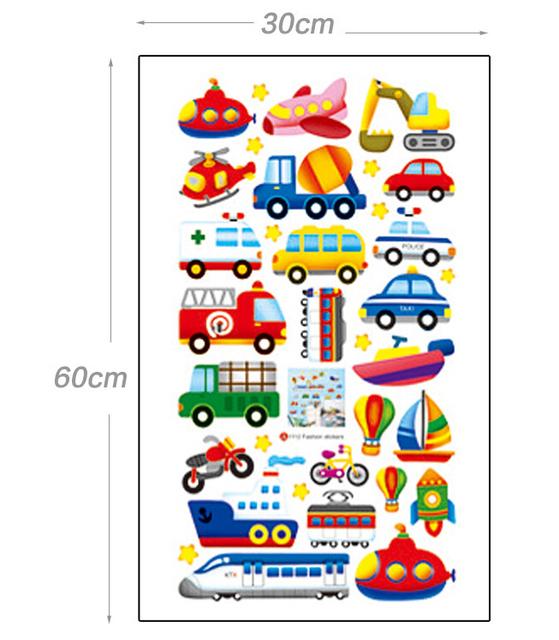 Kids Transports Wall Stickers