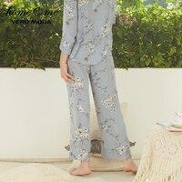 Vero Moda Women New Striped Print Elasticized Waist Pajama Trousers|3181P7508