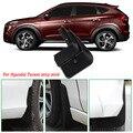 4 шт. Премиум сверхмощные литые Брызговики защитные крылья для Hyundai Tucson 2015-2016
