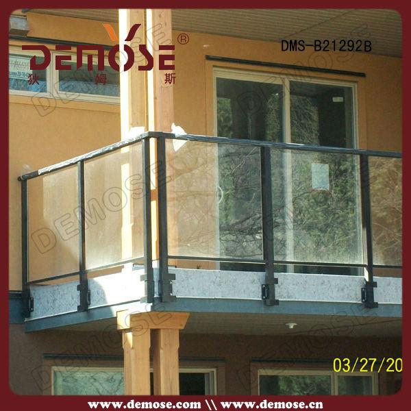 Outdoor Glass Railing Balustrade Handrail Balcony Design Glass | Outdoor Balustrades And Handrails | Timber | Railing | Verandah | Beautiful | Industrial Hand