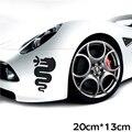 Водонепроницаемый Питона линии протектор стикер автомобиля для alfa romeo 159 147 156 giulietta 147 159 mito значок Автомобиля на открытом воздухе