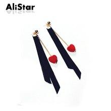 drop #ER042 earrings long