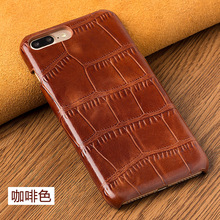Back Case For Xiaomi Mix 2 MiMix2 Crocodile Texture Genuine Leather Mobile Phone Rear Cover For Mi Mix2 + Free Gift