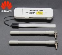 Unlocked Huawei E3372 E3372h 153 Plus A Pair Of Antenna 4G LTE 150Mbps USB Modem 4G