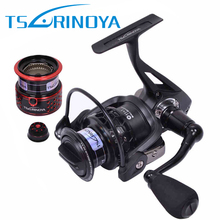 Tsurinoya TSP2000 Spinning Fishing Reel with Spare Spool 12BB 5.2:1 Jig Ocean Boat Rock Lure Wheel Coil Carretilhas De Pescaria