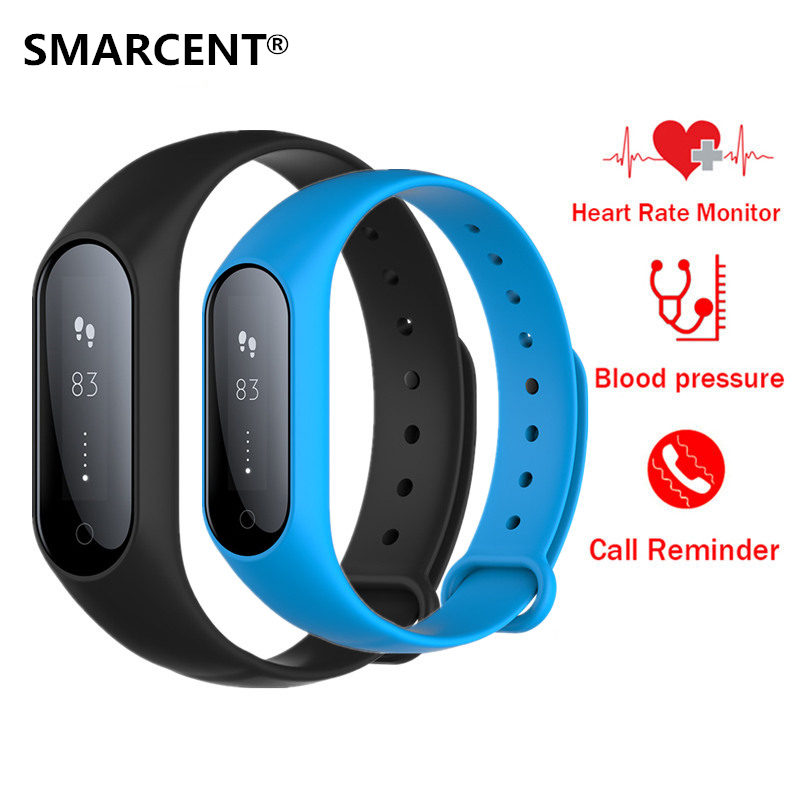 SMARCENT Y2 Plus Smart Band Pulse Heart Rate Fitness Tracker Smart Bracelet Wearable Devices Sleep Monitor