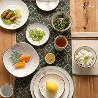 セラミック食器白いカトラリーセットキッチン食器ボウル皿プレート食器セット用フルーツライススープ洋