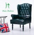 Европейский стиль ретро высокий назад диван крупногабаритных квартира комбинация гостиная кафе-бар стул