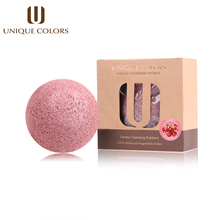 UNIQUE COLORS Natural Konjac Konnyaku Facial Cosmetic Puff Face Makeup Sponge Cleanse Washing Facial Powder Care Exfoliator Tool