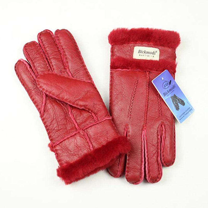 купить кожаные перчатки женские 4