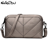 NIGEDU Brand Women Messenger Bag High Quality Soft PU Women S Shoulder Bag Mother Gift Crossbody