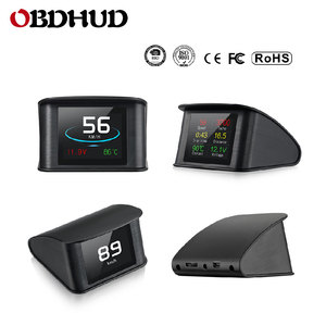 Image 3 - WiiYii OBD2 HUD P10  car head up display OBD Digital Temperature Gauge Speed Meter Engine Coolant Temperature Display Alarm