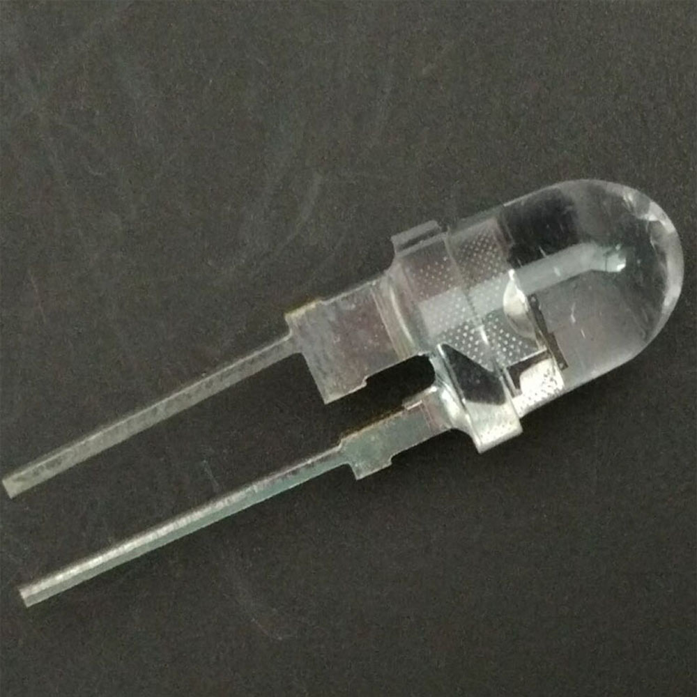 20PCS/LOT 8mm Through Hole 0.5W 940nm 9 Degrees IR LED Infrared Emitting Diode invisible light use for aerospace 20 pcs lot 5mm 14mil infrared ir led 940nm invisible diode 90 degree through hole led light diodes for remote comtrol