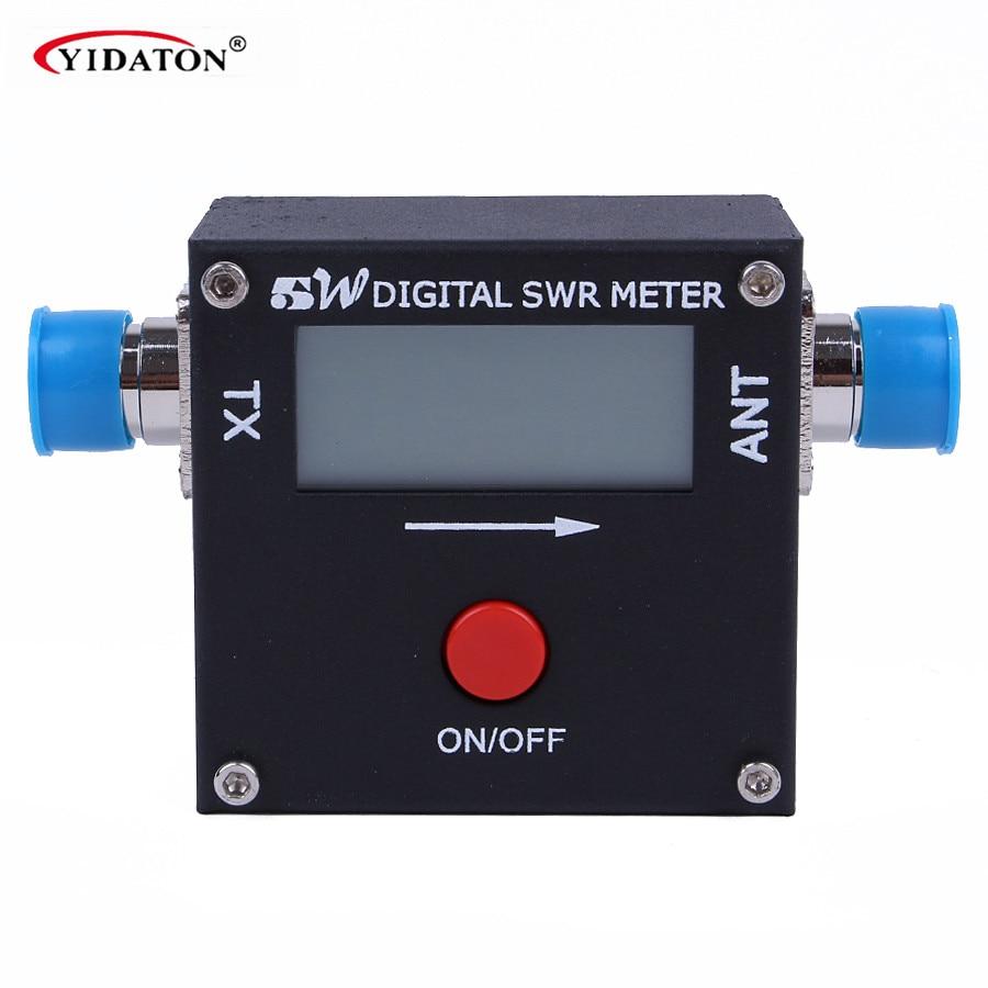 bilder für REDOT 2017A Mini Digital Power Swr-meter 199 Watt AM/FM/SSB/CW 1,6-60 MHz für 2-wege-radio mobilfunk Digitale swr-meter