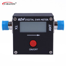 REDOT 2017A Mini Digital SWR Power Meter 199W AM/FM/SSB/CW 1.6 – 60MHz for 2-way radio mobile radio Digital swr meter