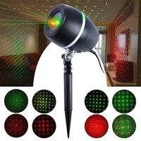 IP65 110V 240V US EU UK Christmas Laser Projector Christmas Outdoor Laser Projector Laser Projector With