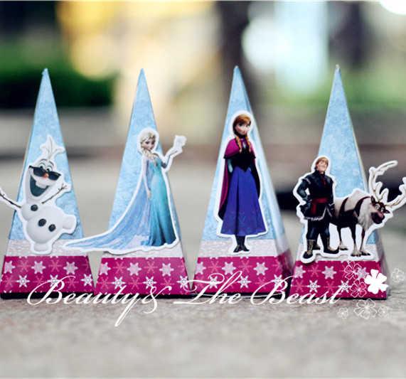 Принцесса Эльза Анна Снежная королева подарочные коробки для конфет коробка
