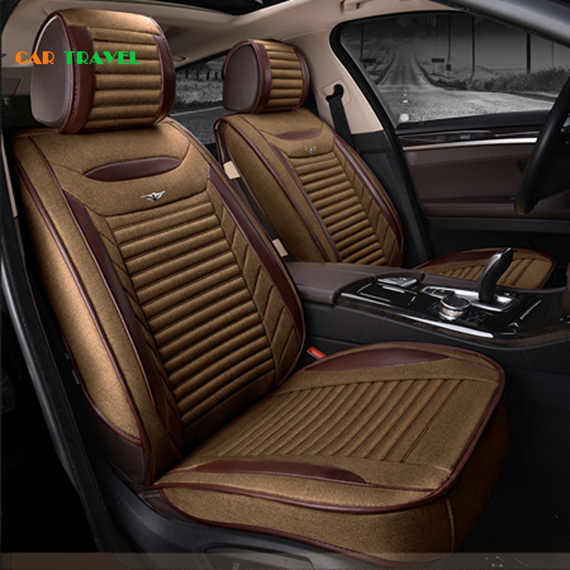 Car travel car seat cover auto interior accessories universal styling car cases for ford for Travel gear car