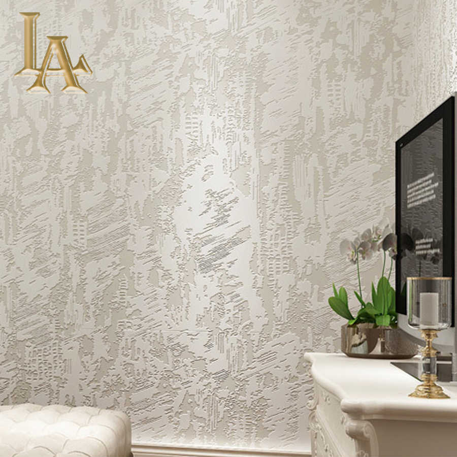Modern Simple Solid Color Textured 3d Wallpaper For Walls Living