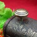 Vintage Bronze rodada gaveta puxa alças armário de cozinha puxadores de porta de Bronze antigo móveis maçanetas