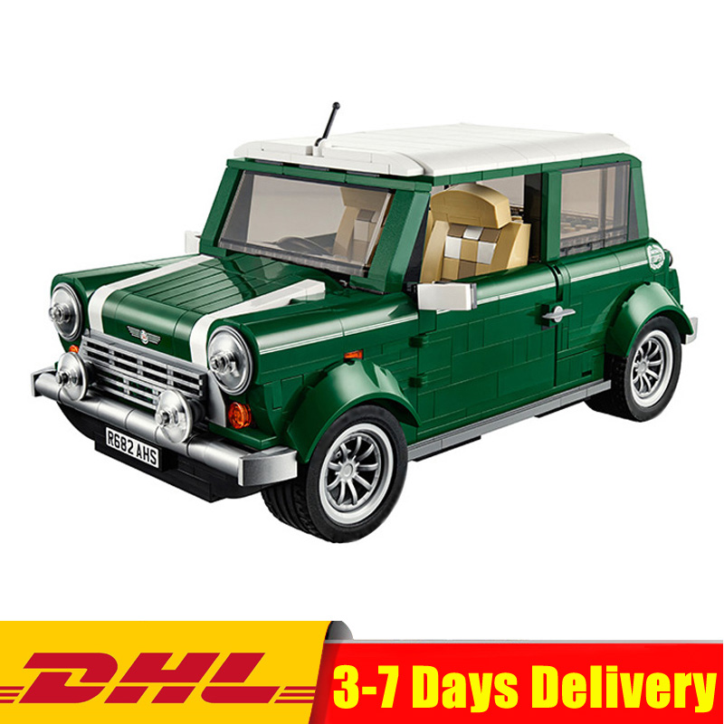 DHL IN STOCK DHL Free shipping LEPIN 21002 1108 pcs MINI Cooper Model Building Kits Blocks Bricks Toys Compatible With 10242 hornet высокие кеды и кроссовки