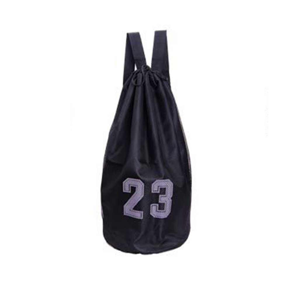 Large Basketball Bags For Balls Soccer Drawstring Mash Pack Fitness Net Pocket Outdoor Basketball Backpack For Men Women
