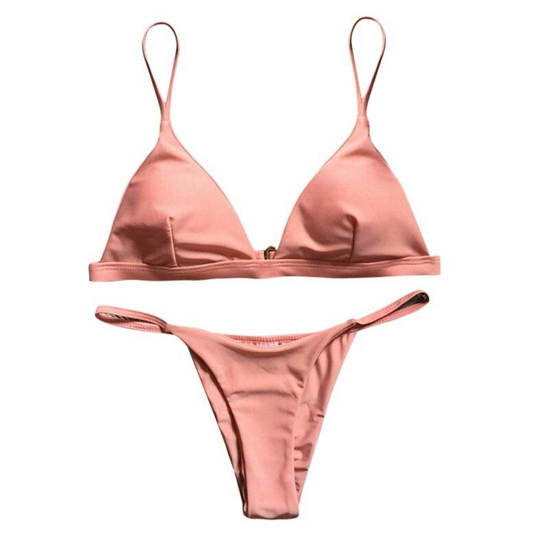HTB1WjcXfDXYBeNkHFrdq6AiuVXaD 2019 Women Micro Bikini set Push Up Swimwear Solid Beach Bathing Suit Brazilian Thong Swimsuit For Girls Bikini Swim Suit femme