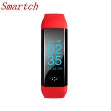 Smartch Спорт M2S Смарт Браслет сердечного ритма крови Давление Монитор кислорода SmartBand Браслет активности фитнес-трекер fitb