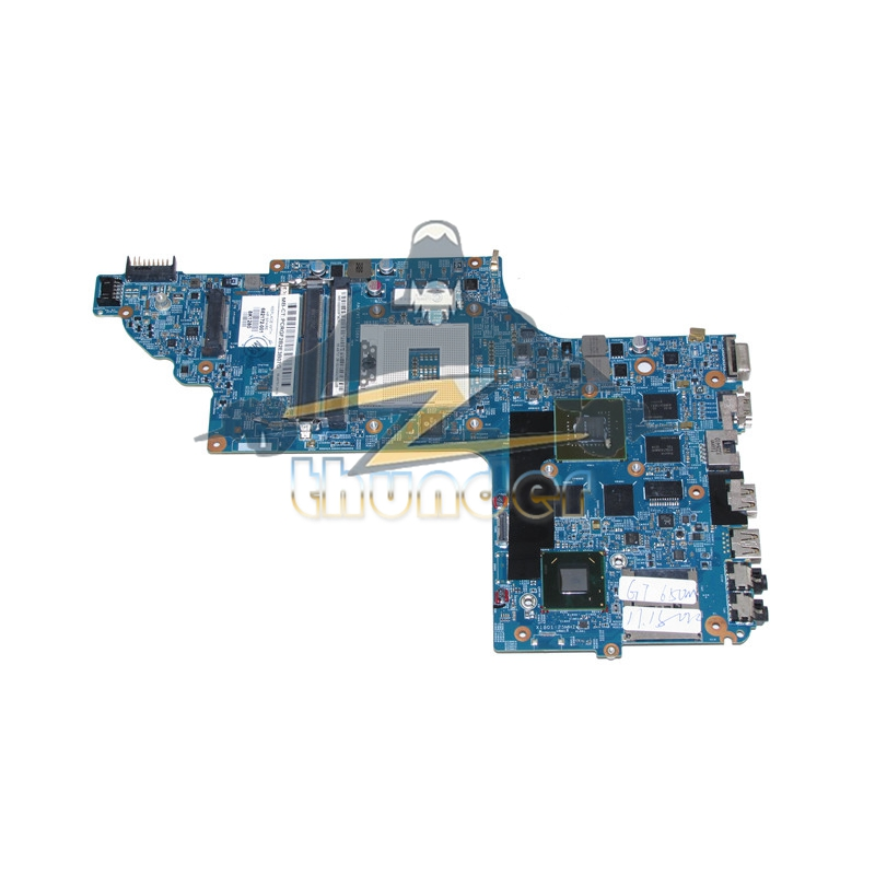 682172-001 48.4ST06.021 for hp pavilion DV6-7000 laptop motherboard HM77 GT650M DDR3 sheli laptop motherboard for hp pavilion dv6 7000 682169 001 48 4st10 021 ddr3 gt630m 1gb non integrated graphics card
