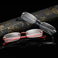 678adf5e69 2018 Limited Hmc Gafas De Lectura New Old Flower Glasses Wholesale  Frameless Age Lock Piece Young