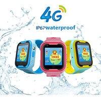 4G Смарт часы Дети телефонные звонки, GPS раннее образование умные часы дети с камерой телефон часы браслет часы малыш