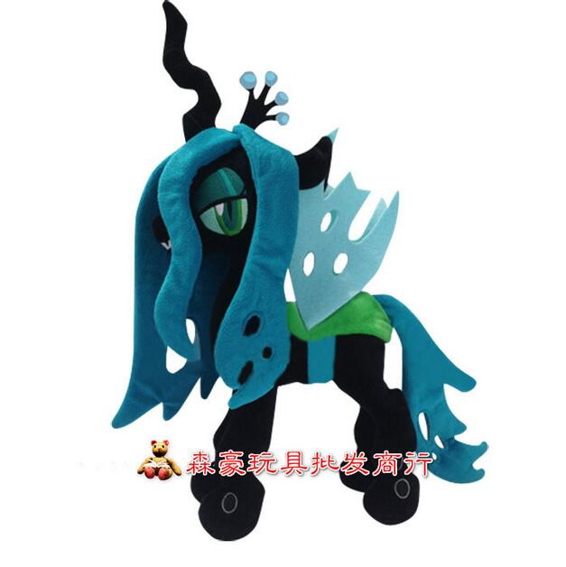 40cm Height My Rainbow horse Toy Collection Princess Queen Chrysalis Little Cute Unicorn Plush Toys Birthday gift