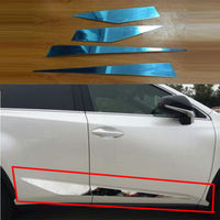 FOR LEXUS NX200T NX300H STAINLESS SIDE DOOR LINING BODY DEC MOULDING TRIM COVER