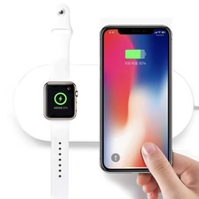 Universel Quick QC3.0 Fast Charging Wireless Charger Simultaneously Chargers for Apple Watch For Iphone X Samsung SmartPhones