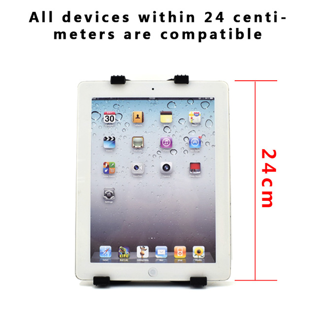 Support de support de tablette universel pour IPad Samsung Tab Lenovo bureau paresseux support de lit pour 5-11 pouces 360 tablettes métalliques rotatives