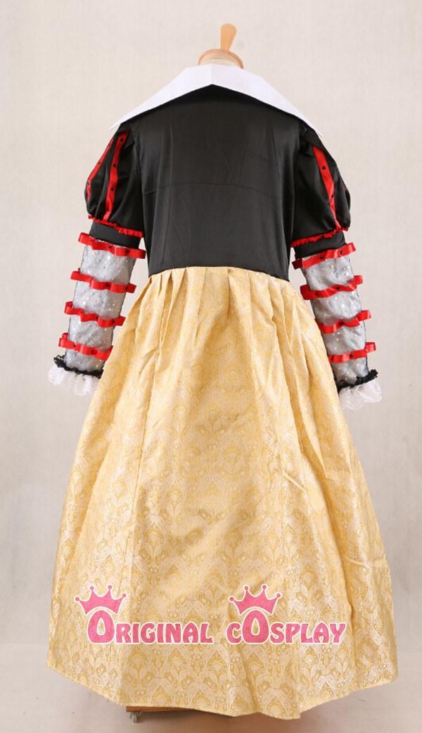 алиса в стране чудес косплей красная королева червей платье леди костюм хэллоуин сшитое большой размер хеллоуин костюм