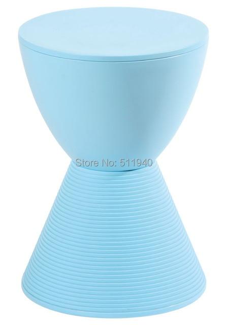 1 piece plastic Philippe Starck prince Aha hourglass stool
