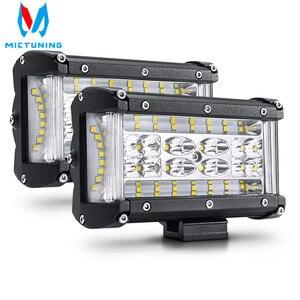 2PCS 5 inch 72W LED Work Light