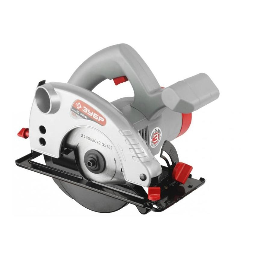 Circular saw ZUBR PZ-900 delucci mbn 06103 dark brown walnut