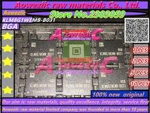 Aoweziic 100% חדש מקורי KLM8G1WEMB B031 BGA זיכרון שבב EMMC 8 gb KLM8G1WEMB B031