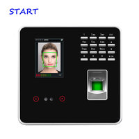 ZK FA200 Face Recognition Time Attendance With Simple Access Control System Biometric Fingerprint Time Recording