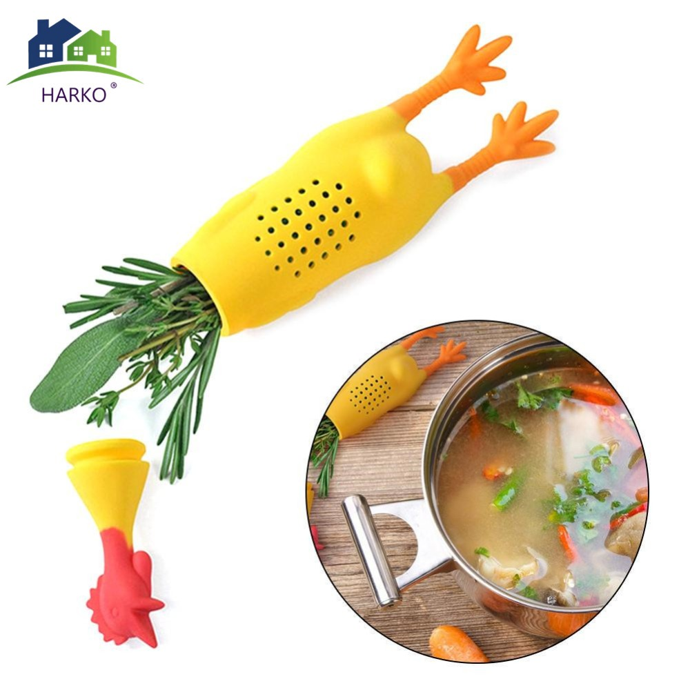 Crock Chicken Herb Infuser Food Safe Silicone Bouquet Garni Casseroles Soups Stews Cooking Tools