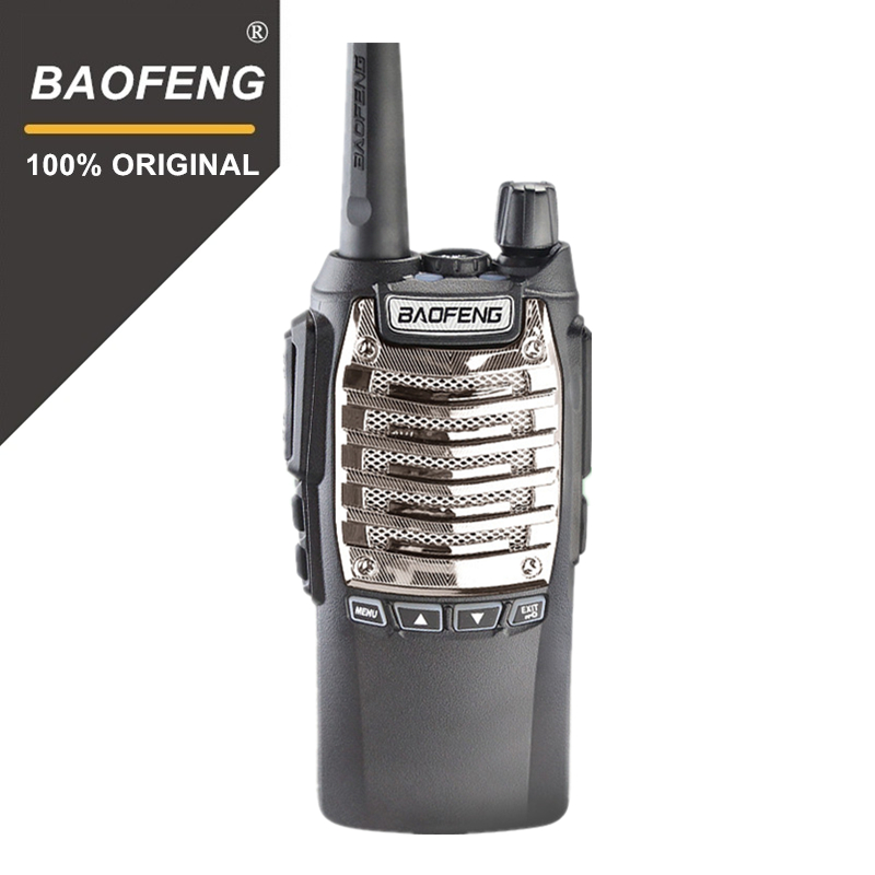 100% D'origine 8 w 128 Canaux Main Libre Baofeng UV-8D Talkie Walkie KM UHF 400-480 mhz Portable Radio comunicador UV8D Interphone