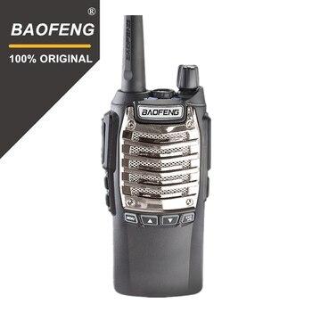 100% Original 8 W 128 canales de manos libres Baofeng UV-8D Walkie Talkie KM UHF 400-480 MHz Radio portátil comunicador UV8D Interphone